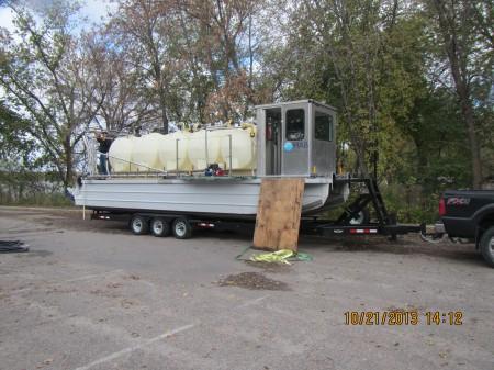 HAB's Barge