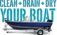 Clean Drain Dry boats