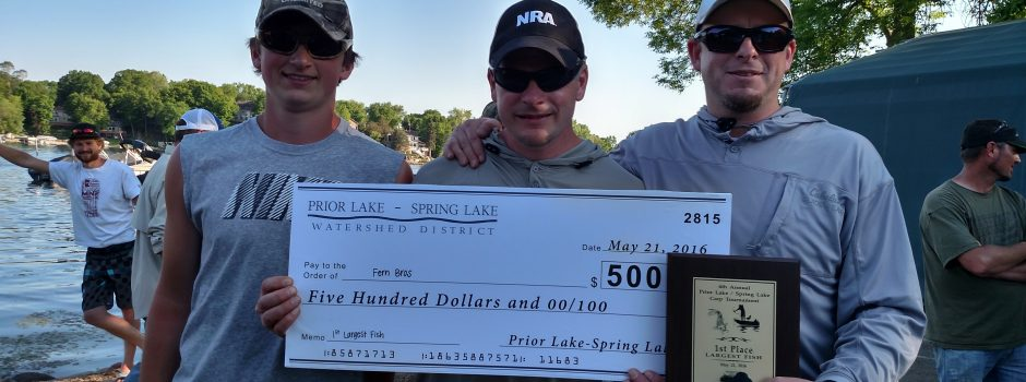 Largest Fish 2016 Carp Tournment
