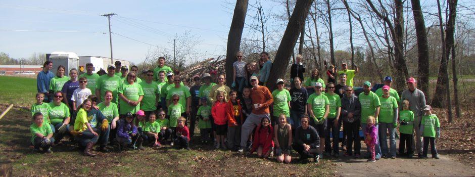 Spring 2017 Clean Water Clean-Up volunteers