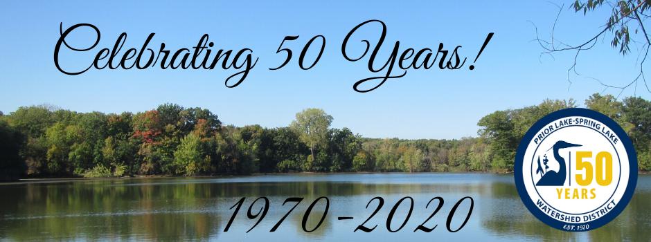Celebrating 50 Years! Website banner
