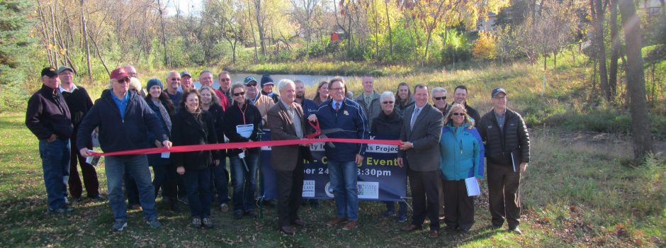 Fish Point Park ribbon cutting_10-24-2017