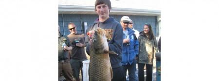 2015 Carp Tournament - Biggest Carp 39 lbs