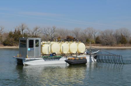 alum barge
