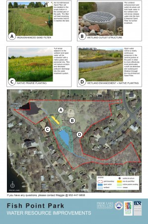 FishPtPark_Water Quality Improvements Project Map_Updated Nov 2015_With Pictures