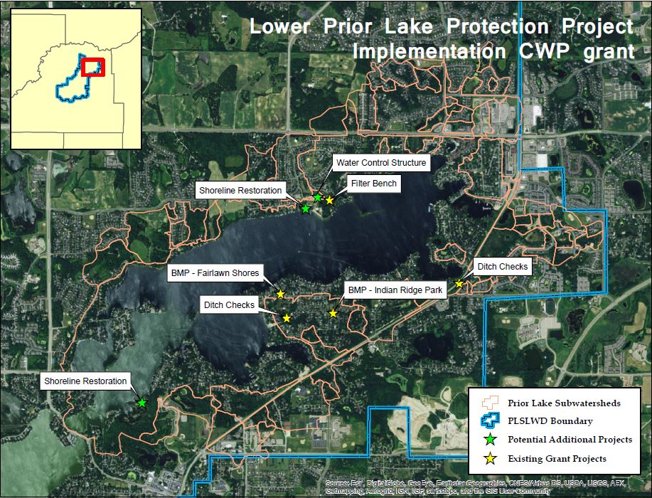 Lower Prior Lake Protection Projects | Prior Lake Spring Lake