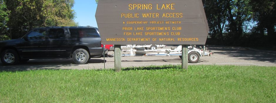 Spring Lake boat launch public access 2016
