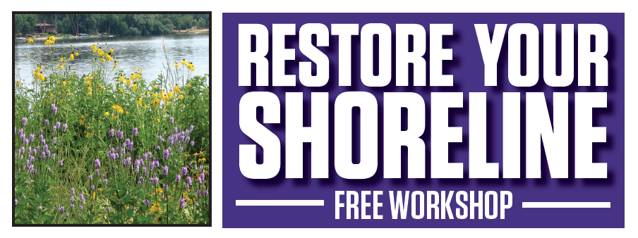 restore your shoreline workshop - banner