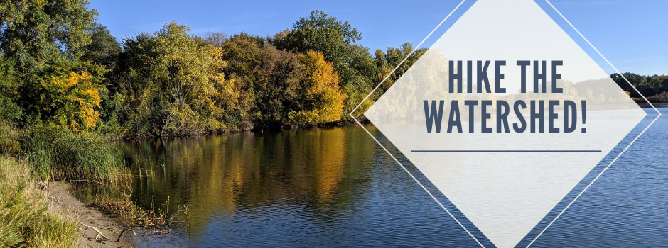Hike the Watershed banner graphic_lake